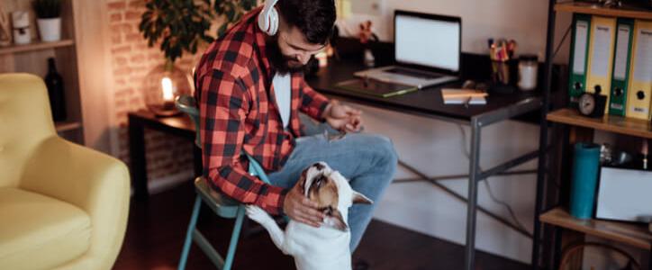 Verandering voor zzp'ers in 2019: deze freelancer werkt thuis