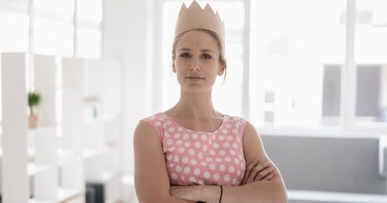 Vrouw met kroon: Miljoenennota 2019