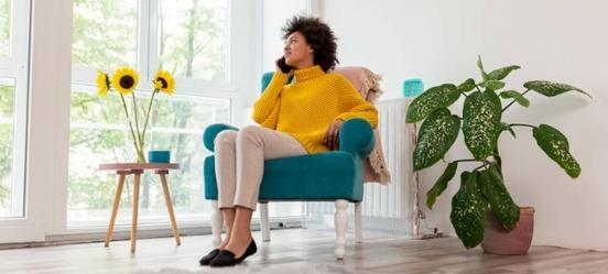Vrouw berekent haar pensioengat