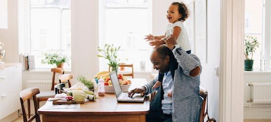 Werken vanuit huis als zzp'er met je kind