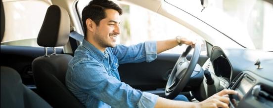 Zakelijk rijden in zijn privé auto